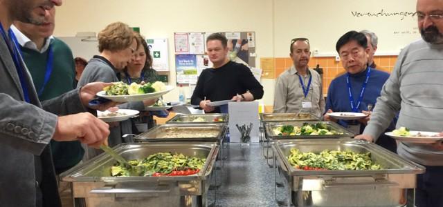 Lunch Catering bei der Firma Knauer Wissenschaftliche Geräte GmbH